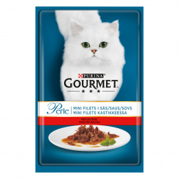 Консервы для кошек – Gourmet Perle Beef in Gravy, 85 г