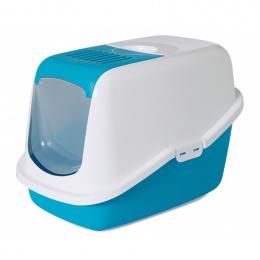 Туалет для кошек – Savic Nestor, light blue-white, 56 x 39 x 38,5 см
