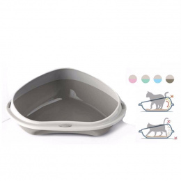 Туалет для кошек - Avesa, Shuttle Corner Large, 58 x 48 x 20,5 см