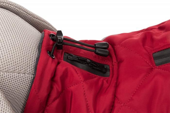 Одежда для собак - Trixie Minot coat, L, 55 см, red