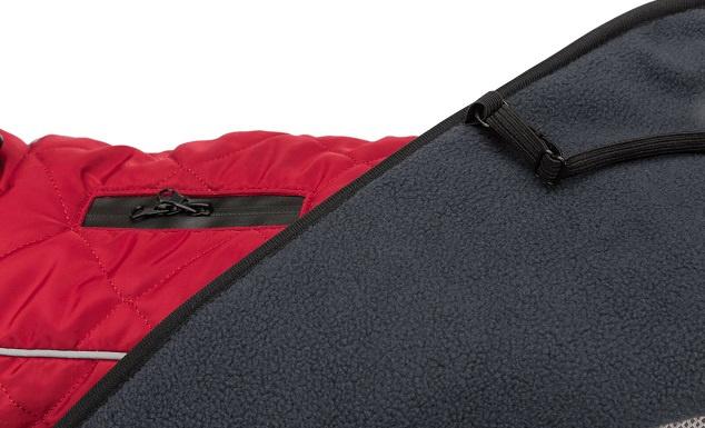 Apģērbs suņiem – Trixie Minot coat, M, 60 cm, sarkans