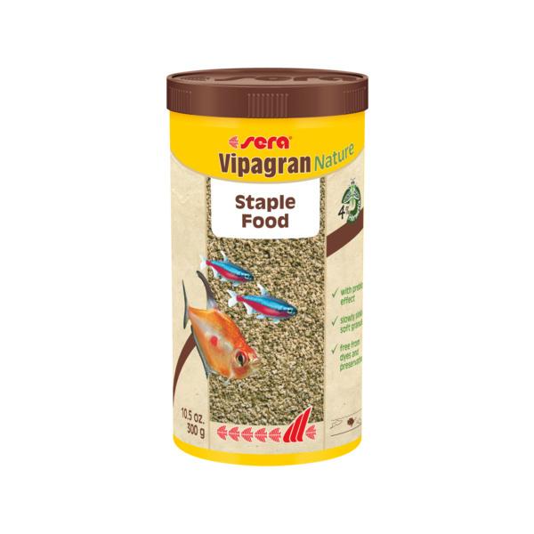 Barība zivīm – Sera Vipagran Nature, 1000 ml