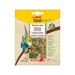Корм для декоративных рыбок – Sera Vipan Nature Tropical Flakes, 12 г
