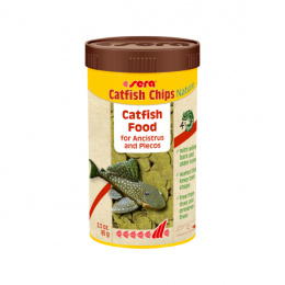 Barība zivīm – Sera Catfish Chips Nature, 250 ml
