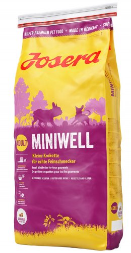 Barība suņiem - Josera Emotion Miniwell (Adult Mini/Sensitive) 1.5kg
