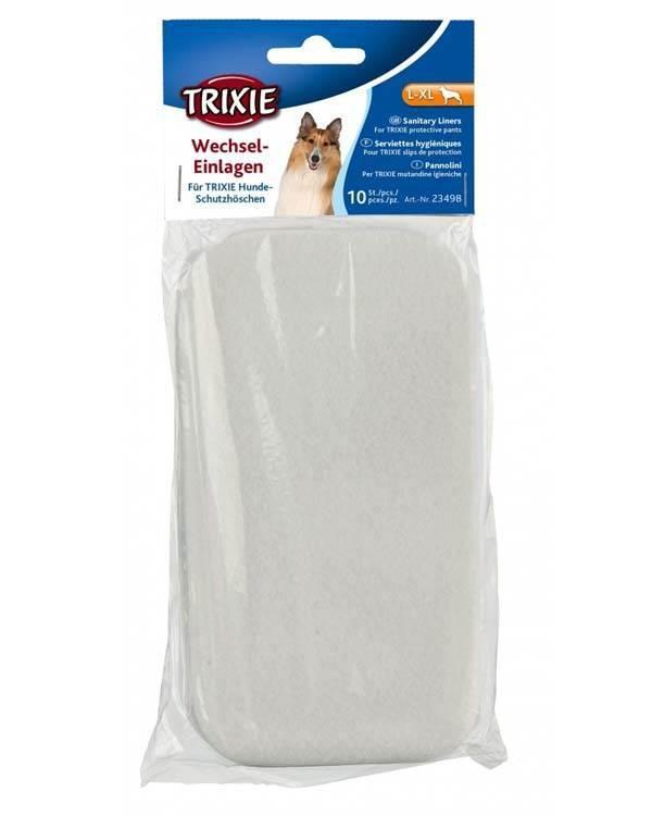Biksītes ieliknīši suņiem - Dog pant and sanitary liner, large