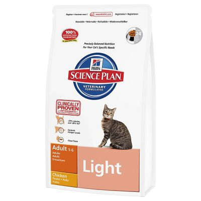 Barība kaķiem - Hill's Feline Adult Light, 0.3 kg