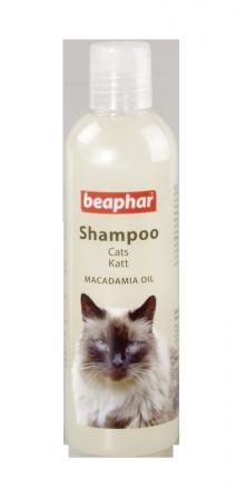 Šampūns kaķiem - Beaphar ProVitamin Shampoo Macadamia Cat 250ml