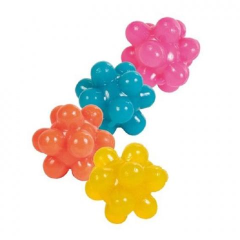 Rotaļlieta kaķiem - bumba 4 knops, 3.5 cm