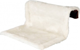 Guļvieta kaķiem - Trixie Radiator Bed, long-haired Plush/Suede Look, 45*26*31 cm