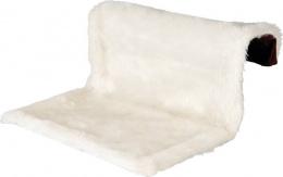Guļvieta kaķiem - Trixie Radiator Bed, long-haired Plush/Suede Look, 45*26*31cm