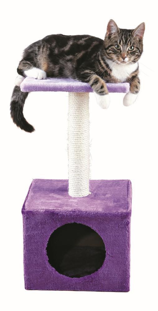 """Mājiņa kaķiem - Trixie """"Zamora"""", scratching post, violeta, 61cm"""