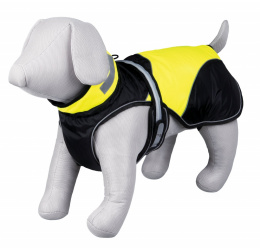 Apģērbs suņiem - Trixie Safety Flash coat, S, 35 cm, (melna/dzeltena)