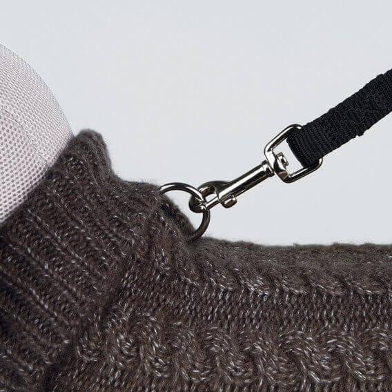 Džemperis suņiem - Langley pullover, XXS, 18 cm, brūna