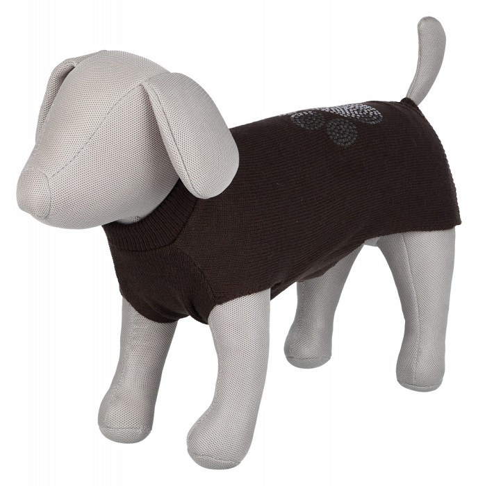 Džemperis suņiem - Trixie Moncton pullover, XS, 30 cm, brūns