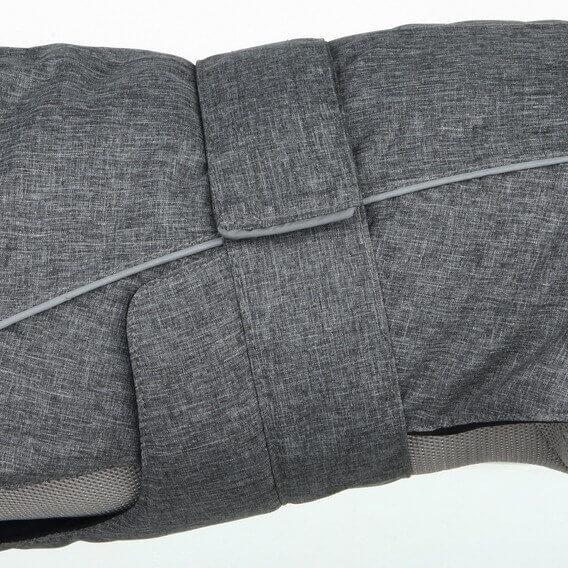 Mētelis suņiem - Trixie Prime coat, M, 36 cm, pelēka