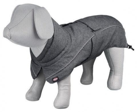 Mētelis suņiem - Trixie Prime coat, M, 45 cm, pelēka title=
