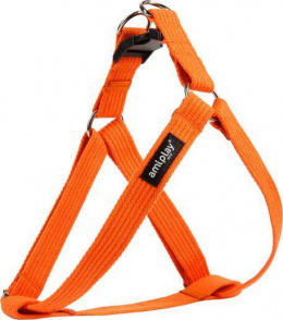 Krūšu siksna - AmiPlay Adjustable Harness Cotton M, 30-55*2cm, krāsa - oranža
