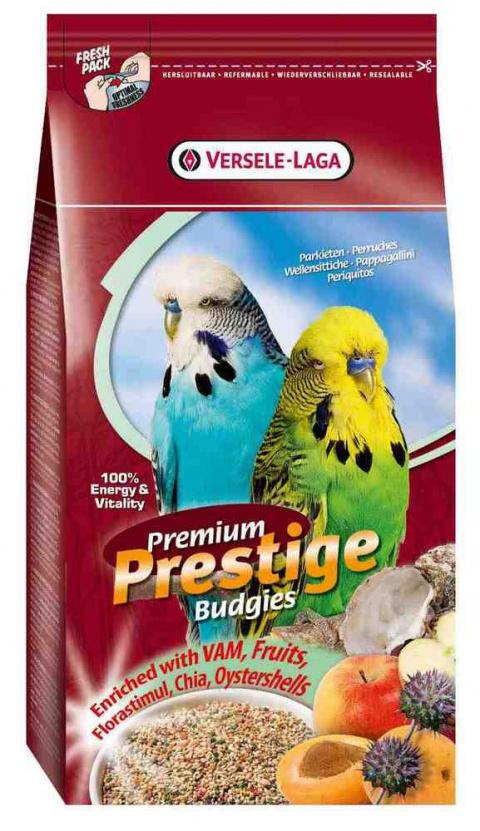Barība putniem - Versele-Laga Prestige Premium Budgies 1 kg