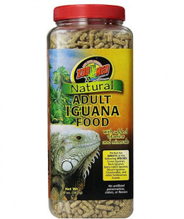 Bar­ība reptiļiem - ZOO MED Natural Iguana Adult Food 567 g