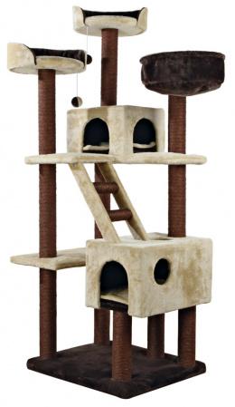 """Mājiņa kaķiem - TRIXIE """"Felicitas"""" Scratching Post, 190 cm, krāsa - bēša/brūna"""
