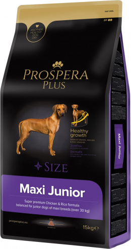 Barība kucēniem - Prospera Plus Maxi Junior, 15 kg