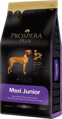 Barība suņiem - Prospera Plus Maxi Junior, 15 kg