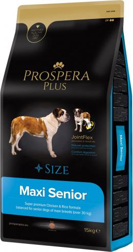 Barība suņiem senioriem - Prospera Plus Maxi Senior, 15 kg