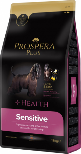 Bar­ība suņiem - Prospera Plus Sensitive, 15 kg