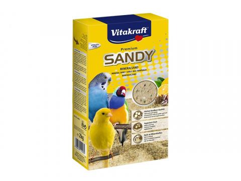 Smiltis putniem - Vitakraft Bio Sand 2 kg