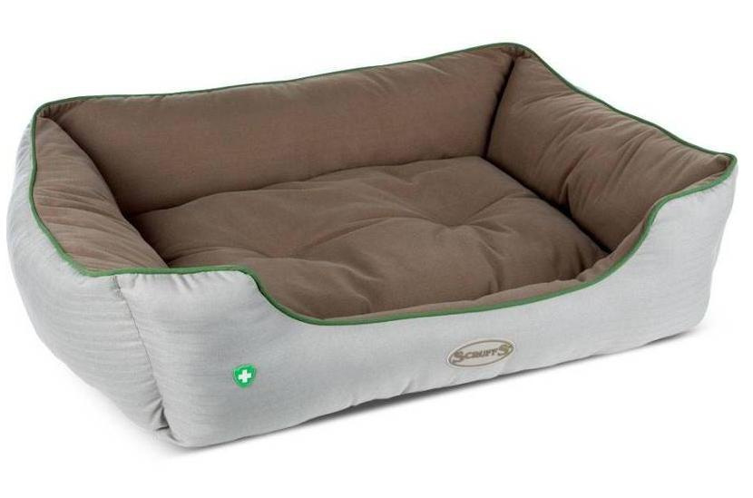 "Guļvieta suņiem - Scruffs ""Insect Shield"" Box Bed, pretinsektu matracis, 90*70cm"