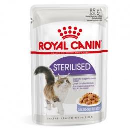 Konservi kaķiem - Royal Canin Feline Sterilised (želejā), 85 g