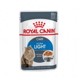 Konservi kaķiem - Royal Canin Feline Ultra Light (želejā) 85g