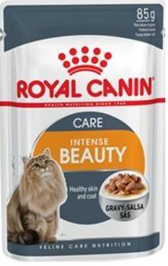 Konservi kaķiem - Royal Canin Feline Intense Beauty (mērcē) 85 g