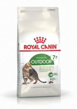 Barība kaķiem - Royal Canin Feline Outdoor+7 0.4 kg
