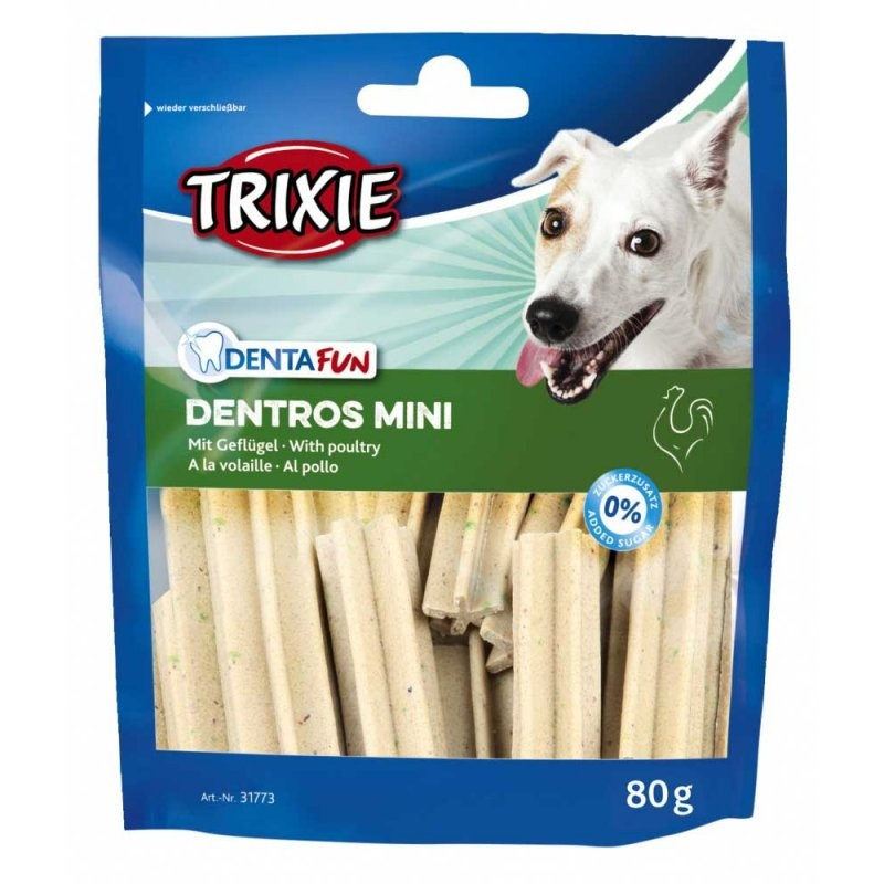 Gardums suņiem - Trixie Denta Fun Dentros Mini, 60 g