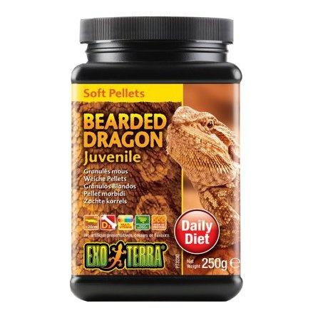 Barība rāpuļiem - Exo Terra Bearded Dragon Food Juvenile 250 g