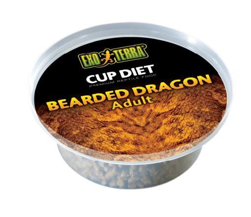 Barība rāpuļiem - Exo Terra Bearded Dragon Food Adult 60 g