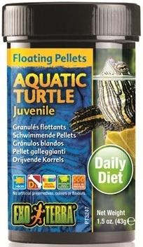 Barība rāpuļiem - Exo Terra Aquatic Turtle Food Juveline 43 g