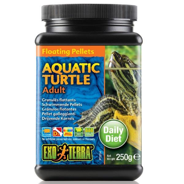 Barība rāpuļiem - Exo Terra Aquatic Turtle Food Adult 250 g