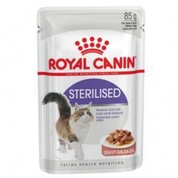 Konservi kaķiem - Royal Canin Feline Sterilised (mērcē), 85 g