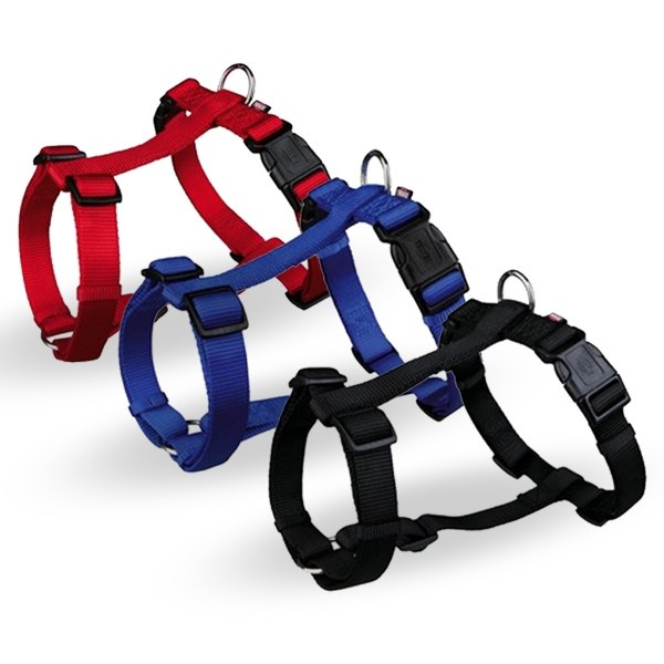 Krūšu siksna suņiem - Trixie Premium H-Harness, neilona, 30-40cm/10mm