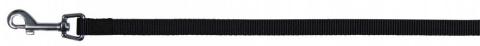 Pavada suņiem - Classic leash, M–L, melna