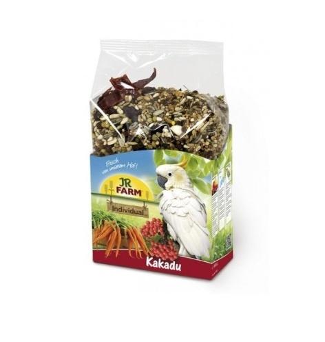 Barība lielajiem papagaiļiem - JR FARM Birds Individual Cockatoos / Kakadu papagaiļiem 950 gr