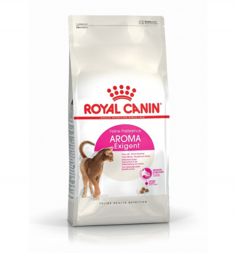 Barība kaķiem - Royal Canin Feline Exigent Aromatic, 0,4 kg title=