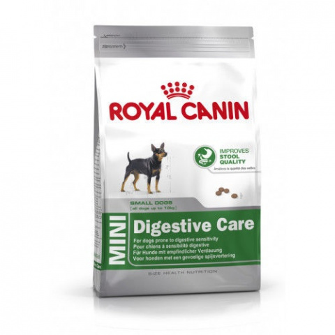 Barī­ba suņiem - Royal Canin Mini Digestive Care, 2 kg