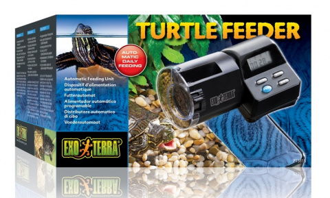 Automātiskā barotava bruņurupučiem - Exo Terra Turtle Automatic Feeder, 200 ml title=