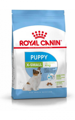 Barība kucēniem - Royal Canin X-Small Junior, 0.5 kg