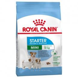 Barība grūsnām un laktējošām kucēm un kucēniem - Royal Canin Mini Starter, 1 kg