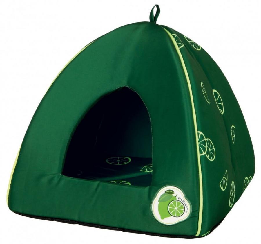 Спальное место для кошек - Fresh Fruits Cuddly Cave, лайм, 40*38*40cm